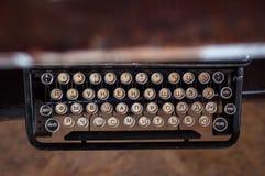 Vecchia macchina da scrivere Fotografia Stock Libera da Diritti