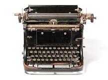 Vecchia macchina da scrivere arrugginita Fotografia Stock