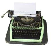 Vecchia macchina da scrivere cirillica Immagini Stock