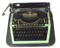 Vecchia macchina da scrivere cirillica Fotografia Stock Libera da Diritti