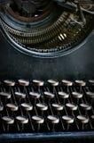 Vecchia macchina da scrivere dell'annata Immagini Stock