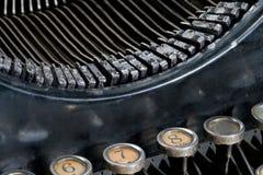 Vecchia macchina da scrivere d'annata immagini stock libere da diritti
