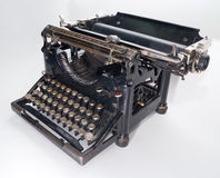 Vecchia macchina da scrivere dell'annata fotografia stock libera da diritti