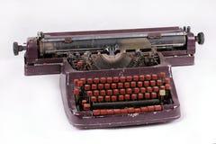 Vecchia macchina da scrivere dell'annata Immagini Stock Libere da Diritti