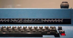 Vecchia macchina da scrivere di IBM Selectric Immagini Stock