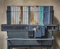 Vecchia macchina del biglietto immagine stock libera da diritti