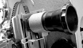 Vecchia macchina di film Fotografie Stock