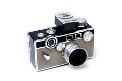 Vecchia macchina fotografica 1 fotografia stock libera da diritti