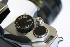 Vecchia macchina fotografica fotografie stock