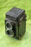 Vecchia macchina fotografica 6x6 Immagini Stock