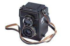 Vecchia macchina fotografica antica della foto Fotografia Stock