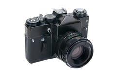 Vecchia macchina fotografica classica della foto fotografia stock libera da diritti