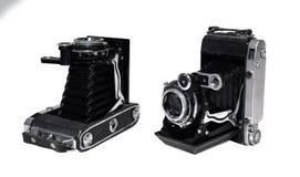 Vecchia macchina fotografica d'annata fotografia stock