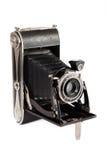 Vecchia macchina fotografica d'annata Fotografie Stock