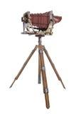 Vecchia macchina fotografica del professionista dell'annata fotografia stock libera da diritti