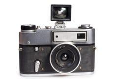 Vecchia macchina fotografica del telemetro immagini stock