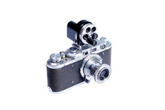 Vecchia macchina fotografica dell'annata Fotografia Stock