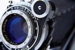 Vecchia macchina fotografica della foto Fotografie Stock Libere da Diritti
