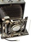 Vecchia macchina fotografica della foto dell'oggetto d'antiquariato fotografie stock