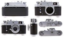 Vecchia macchina fotografica della pellicola Fotografia Stock Libera da Diritti
