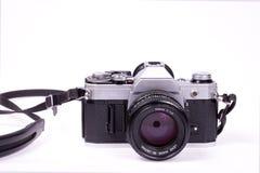 Vecchia macchina fotografica della pellicola Immagine Stock Libera da Diritti