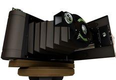 Vecchia macchina fotografica della pellicola royalty illustrazione gratis