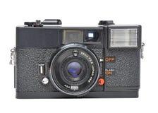 Vecchia macchina fotografica della pellicola Fotografie Stock