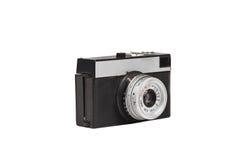 Vecchia macchina fotografica della pellicola isolata su bianco Immagine Stock
