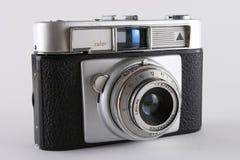 Vecchia macchina fotografica dello slr Fotografie Stock Libere da Diritti