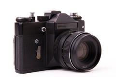 Vecchia macchina fotografica dello slr Fotografie Stock