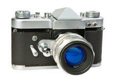 Vecchia macchina fotografica di 35mm Immagini Stock Libere da Diritti