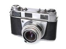 Vecchia macchina fotografica di 35mm Immagini Stock