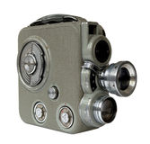 Vecchia macchina fotografica di 8mm Fotografie Stock