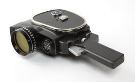 Vecchia macchina fotografica di film Fotografia Stock Libera da Diritti