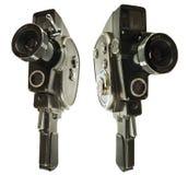 Vecchia macchina fotografica di film Fotografia Stock