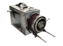 vecchia macchina fotografica di film ?di debri? fotografia stock