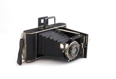 Vecchia macchina fotografica di foto Immagini Stock Libere da Diritti