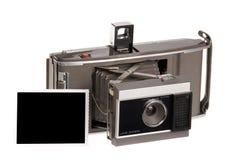 Vecchia macchina fotografica di Polaroid immagini stock libere da diritti