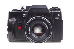Vecchia macchina fotografica di SLR. Immagini Stock Libere da Diritti