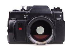 Vecchia macchina fotografica di SLR. Fotografie Stock Libere da Diritti