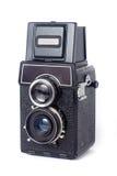 Vecchia macchina fotografica di TLR Fotografie Stock