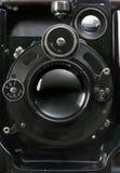 Vecchia macchina fotografica fotografica Fotografia Stock