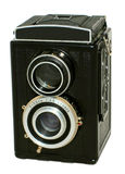 Vecchia macchina fotografica fotografica Fotografie Stock Libere da Diritti