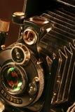Vecchia macchina fotografica fotografica Immagini Stock