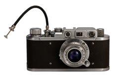 Vecchia macchina fotografica fotografica Immagini Stock Libere da Diritti