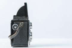 Vecchia macchina fotografica reflex gemellare Immagini Stock Libere da Diritti