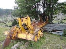 Vecchia macchina nella Terra del Fuoco Fotografia Stock