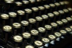 Vecchia macchina per scrivere. Immagini Stock