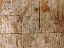 Vecchia macro di legno Fotografia Stock