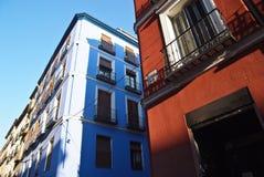 Vecchia Madrid Fotografia Stock